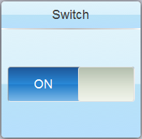Web Studio Help illus mobileaccess widget switch Configure the area settings