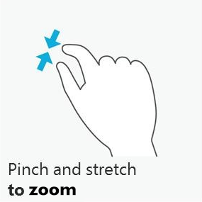 Web Studio Help illus multitouch gesture zoom …in Data Objects