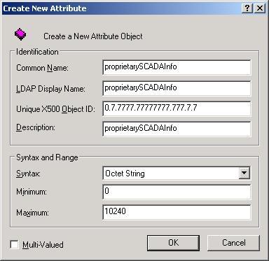 Web Studio Help illus security extendingldap 07 Extending the LDAP schema to allow saving of security rights