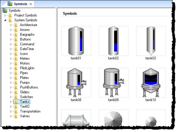 Web Studio Help worksheet symbolslibrary Symbols library