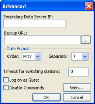 Web Studio Help dialog viewercfg 2 Configuring the Thin Client