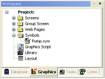 Web Studio Help tech0523 Save your own project symbols