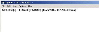 Web Studio Help techref0545a Using Remote LogWin