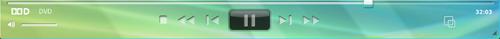 Corel WinDVD player panel لوحة القارئ