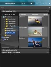 Corel WinDVD open playlist Creación de listas de reproducción