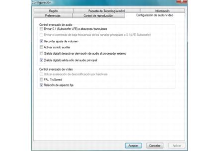 Corel WinDVD setup audio%20video%20setup Configuración de audio/vídeo