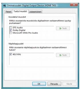 Corel WinDVD bd audio%202 Digitaalinen äänenulostulo BD ROM levylle
