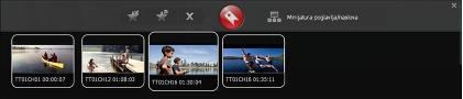 Corel WinDVD bookmark panel Kreiranje obilježivača