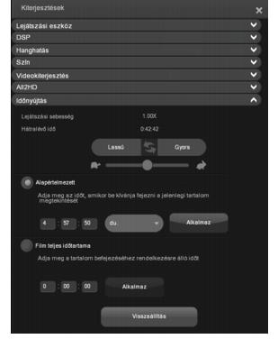 Corel WinDVD enhancements time%20stretch Az Időnyújtáshasználata