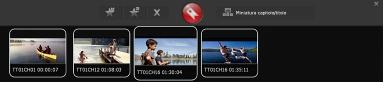 Corel WinDVD bookmark panel Creazione di segnalibri