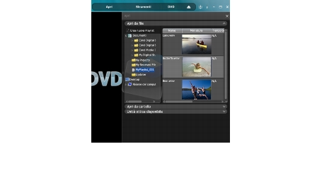 Corel WinDVD open playlist Creazione di Playlist