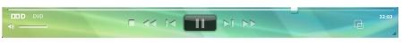 Corel WinDVD player panela Панель проигрывателя