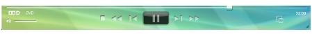 Corel WinDVD player panela 播放器面板