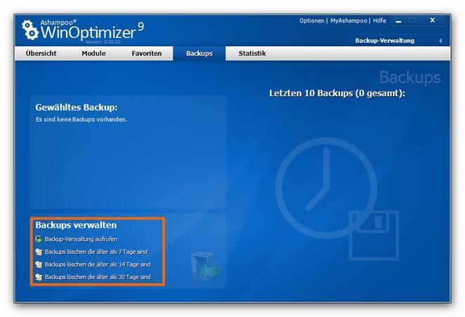 WinOptimizer backup.zoom75 Backups