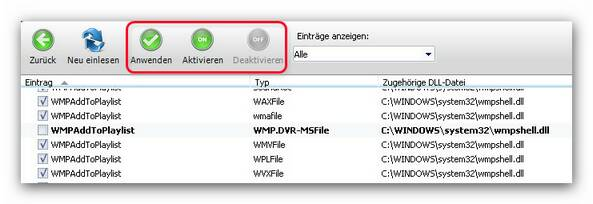 WinOptimizer cm1.zoom80 Kontextmenü Manager