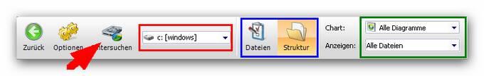 WinOptimizer disex.zoom90 Vorgehensweise