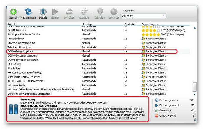 WinOptimizer serm.zoom80 Service Manager