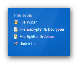 WinOptimizer wo9 filetools File Tools