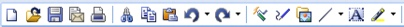 WordPerfect Office toolbar Exploring the workspace