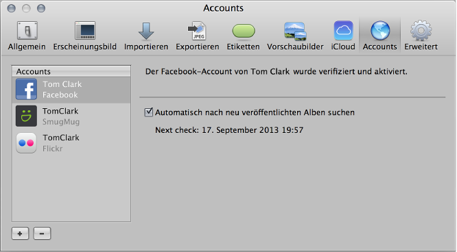 """Abbildung. Steuerelemente im Bereich """"Web""""."""