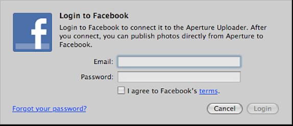 Figure. Facebook login page.