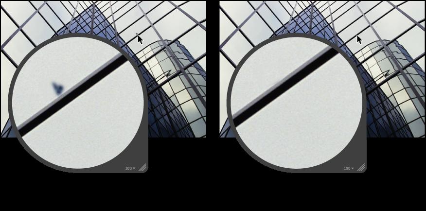 図。 「パッチ」調整の前と後のイメージ。