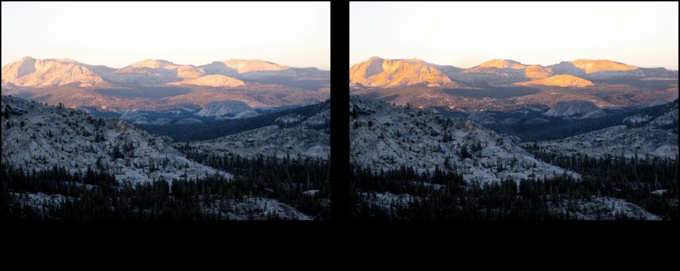 図。 「焼き込み」クイックブラシ調整の前と後のイメージ。