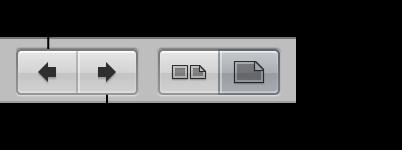 「次のページへ」ボタンと「前のページへ」ボタン