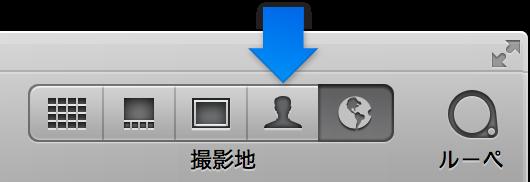 図。 ツールバーの「人々」ボタン。