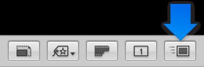 図。 ツールストリップで有効になっている「クイックプレビュー」ボタン。