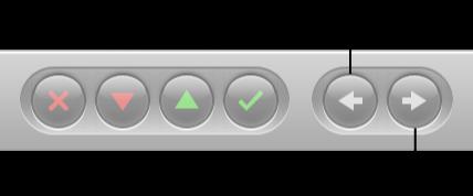 """图。 控制栏中的""""导航""""按钮。"""