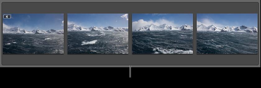 图。 此堆栈包含一系列快速连拍的图像。
