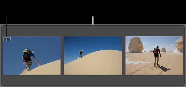 图。 此堆栈包含三个相似的图像。