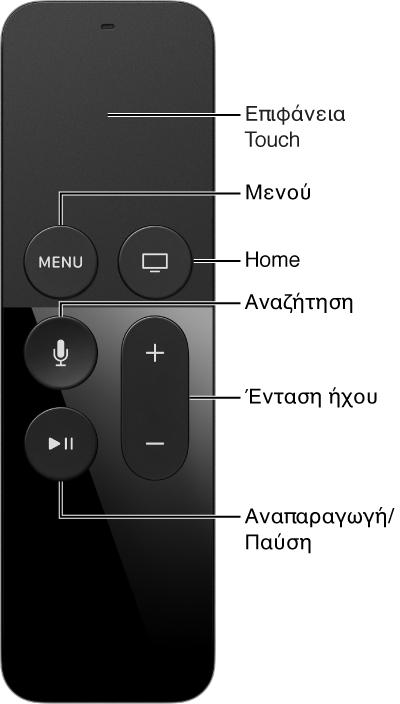 Τηλεχειριστήριο Apple TV 2