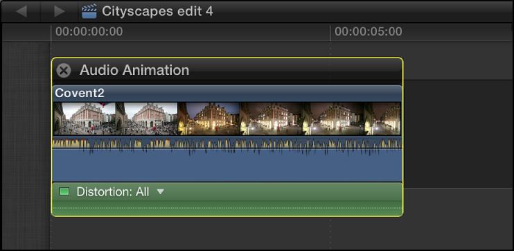 Audio Animation Editor