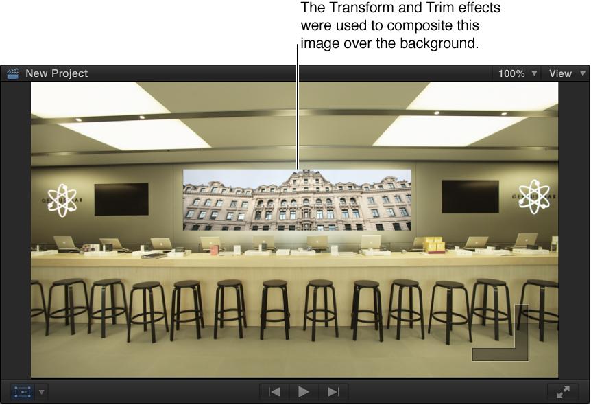 显示复合图像的检视器