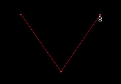 显示线性边角点的检视器