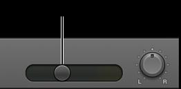 Figur. Sporoverskrift med lydstyrkemærket