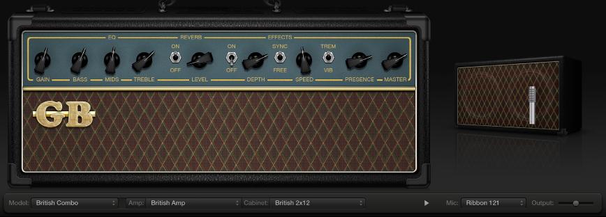 Abbildung. Amp Designer-Plug-In.