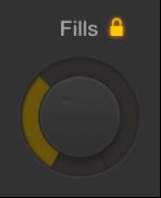 Figure. Fills knob