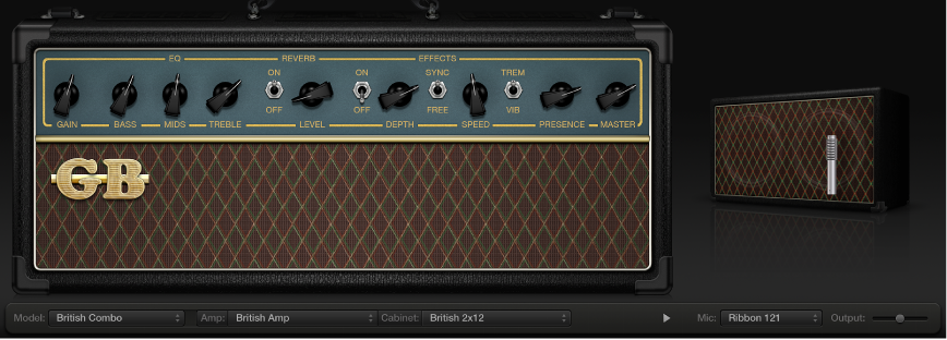 Figure. Amp Designer plug-in