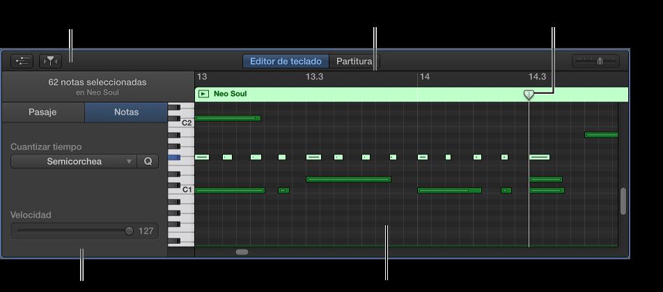 Ilustración. Editor de teclado.