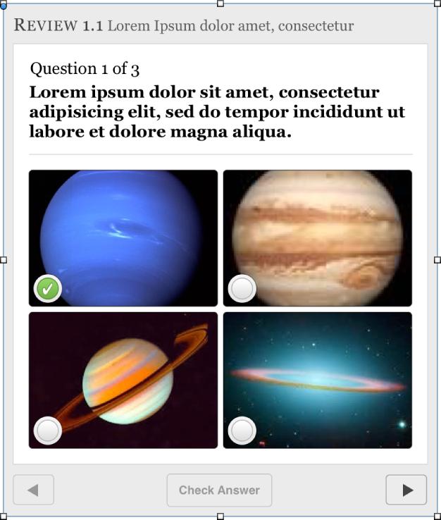 Оглядове запитання з кількома варіантами відповіді й двома вибраними відповідями