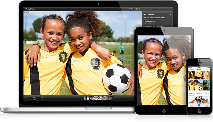 Спільна фотографія з'являється на Mac, iPad та iPhone