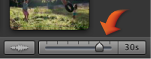 Image of the clip slider