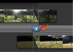 Image of the transition icon in the Precision Editor