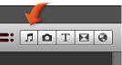 Image of the Music and Sound Effects button