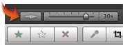 Image of the Audio Waveform button