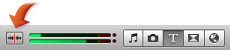 Image of the Audio Skimming button