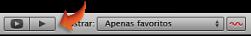 Imagem do botão para reproduzir eventos